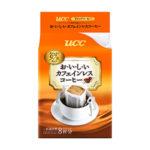 UCC おいしいカフェインレス ドリップコーヒー